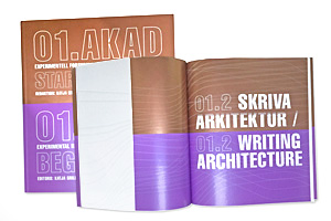 design, project and production of A.K.A.D. catalogue, 176 pages, printed in six colours